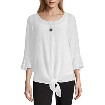 a885ae8b3b25a Shirts + Tops Trendy Collections for Women - JCPenney