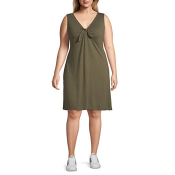 4da086f3e Plus Size Red Dresses for Women - JCPenney