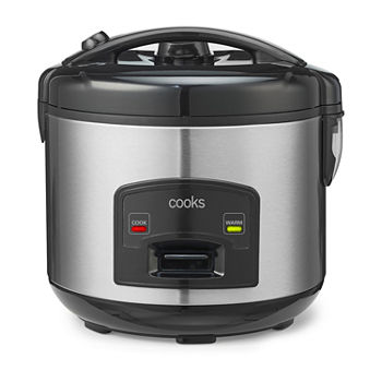 Cooks Stainless Steel Non-Stick Rice Cooker