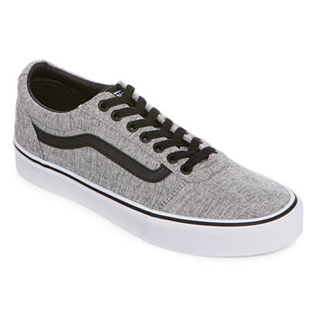 ed8c85b223 Vans Asher Mens Skate Shoes Slip-on. Add To Cart. Textile Grey White.  65