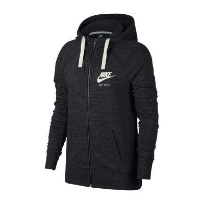 Nike half black half white jacket