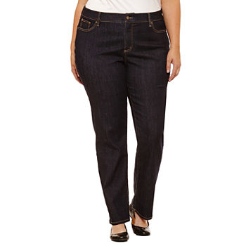 3fa14ae2 Plus Size Jeans for Women | Skinny, Flare & More | JCPenney