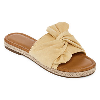 e7796a5604c92 Flat Sandals Yellow Juniors  Sandals   Flip Flops for Shoes - JCPenney