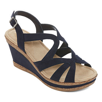 27b54206fee5 St. John s Bay Womens Irma Wedge Sandals · (2). Add To Cart. Only at JCP.  wide width available