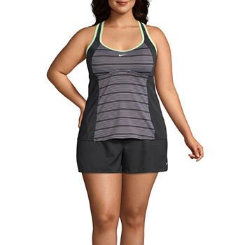 54906b57140a0 Nike Plus Size Swimsuits & Cover-ups for Women - JCPenney
