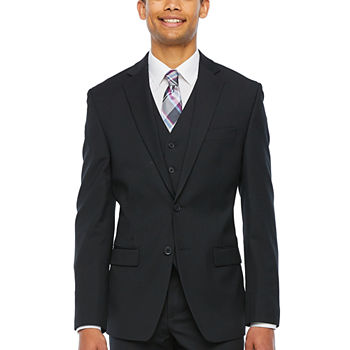 Collection by Michael Strahan Black Classic Fit Suit Separates