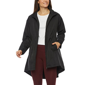 Stylus High Low Lightweight Raincoat
