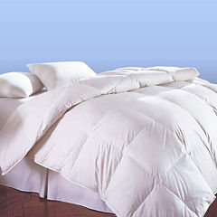 Creative Living Solutions White Goose Feather and Down Comforter