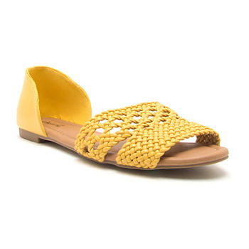 a08840687df Ballet Flats Yellow Women s Flats   Loafers for Shoes - JCPenney