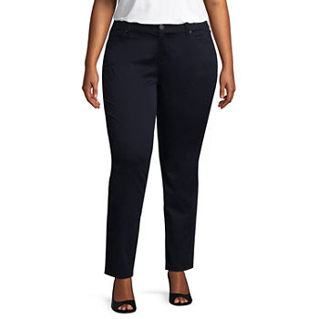 604499fe3cb Arizona Schoolgirl Straight Pants - Juniors Plus. Add To Cart. Only at JCP