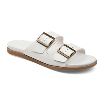 beb8f5d573dd1 Slide Sandals Closeouts for Clearance - JCPenney