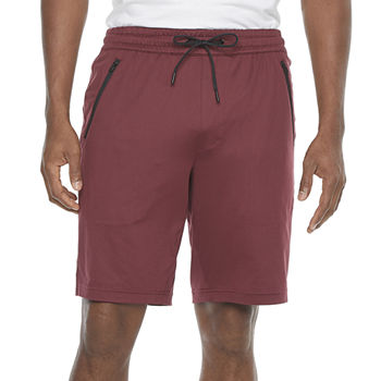 Msx By Michael Strahan Yoga Mens Stretch Moisture Wicking Workout Shorts