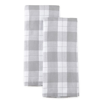 Cooks Check Dual Purpose 2-pc Kitchen Towel