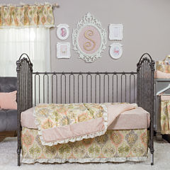 Trend Lab® Waverly Rosewater Glam 3-Piece Crib Bedding Set