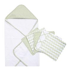 Trend Lab® Sea Foam 6-pc. Bath Gift Set