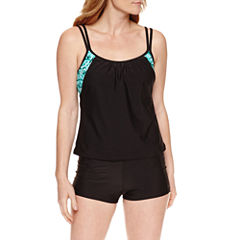 Splashletics Tie Dye Tankini Swimsuit Top or Swim Short
