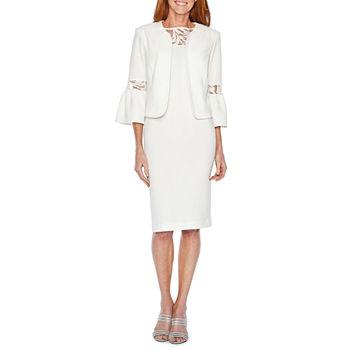 b4cfc2e8ff3f6 Maya Brooke 3 4 Sleeve Embellished Jacket Dress. Add To Cart. Few Left