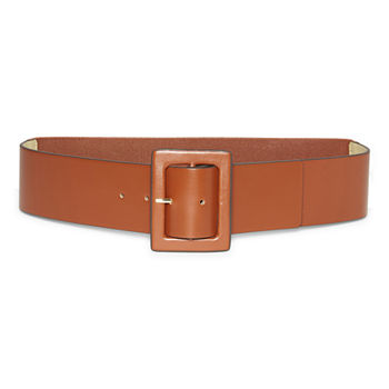 Worthington Covered Buckle Womens Belt