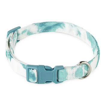 Paw And Tail Tie Dye Dog Collar