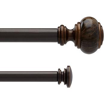 10 elegant triple curtain rod