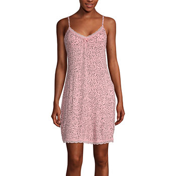 Ambrielle Womens Chemise Sweetheart Neck