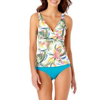 Liz Claiborne Tropical Tankini Swimsuit Top or Swimsuit Bottom