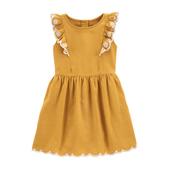 Carter's Toddler Girls Short Sleeve Sundress
