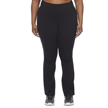Xersion Studio Womens Mid Rise Plus Yoga Pant