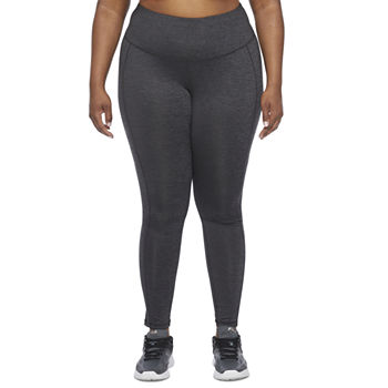 Xersion Train Womens Plus Mid Rise 7/8 Ankle Leggings