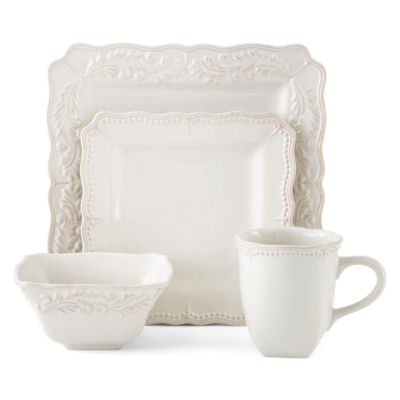 Square Dinnerware Set · (4). Add To Cart. Only at JCP  sc 1 st  JCPenney & Dinnerware Sets Dinner Plates \u0026 Dish Sets