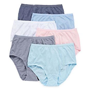 e407390cb3d Fruit Of The Loom Moisture Wicking Panties for Women - JCPenney