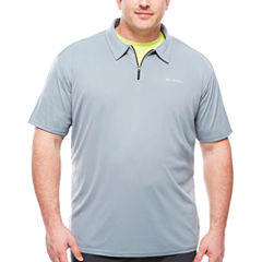 Columbia Sportswear Co. Short Sleeve Knit Polo Shirt Big and Tall