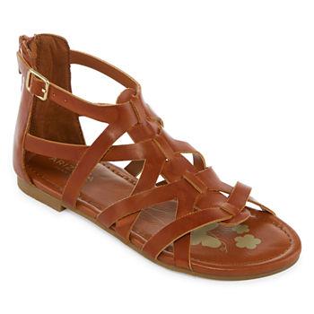 af06d952e8c8 Gladiator Sandals Girls Shoes for Shoes - JCPenney