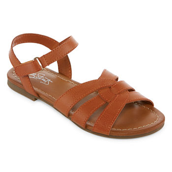 a9991a569017 Cushioned Strap Sandals Girls Shoes for Shoes - JCPenney