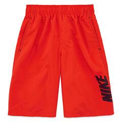 Nike® Convoy Logo Volley Swim Trunks - Boys 8-20