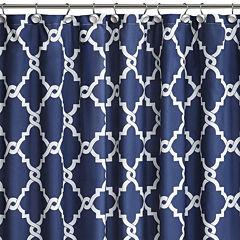 Madison Park Essentials Cole Printed Shower Curtain