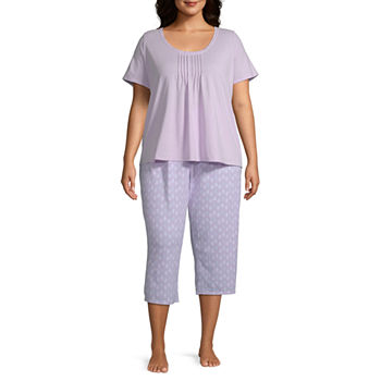 980d8b846ceb Capri Pajama Sets Purple Pajamas   Robes for Women - JCPenney
