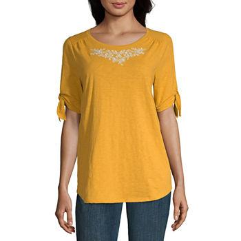 146a832e9477e St. John s Bay T-shirts Tops for Women - JCPenney