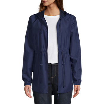 St. John's Bay Water Resistant Lightweight Tall Anorak