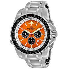 Oceanaut Mens Silver Tone Bracelet Watch-Oc0116