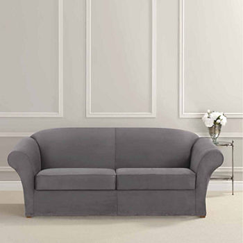 prod linen src fancy grey sure fit fabric cover stretch gray slipcovers soft sofa new solid collection suede slipcover stella search