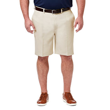 Haggar Cool 18 Pro Classic Fit Solid Shorts – Big and Tall