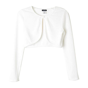 c5fcb82c1d Lilt Girls Round Neck Long Sleeve Button Cardigan Toddler. Add To Cart. Few  Left. White