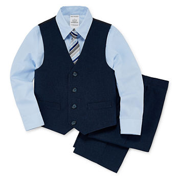 Van Heusen Toddler Boys 4-pc. Suit Set