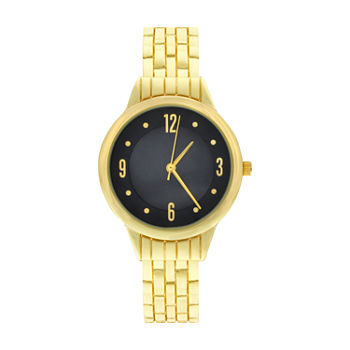 Mixit Womens Gold Tone Bangle Watch-Wac4407jc