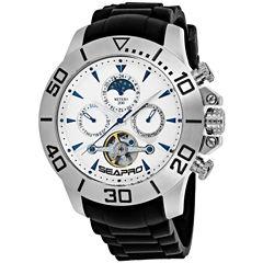 Sea-Pro Montecillo Mens Black Bracelet Watch-Sp5121