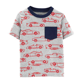 a22430ca5 Shirts + Tops Gray Baby Boy Clothes 0-24 Months for Baby - JCPenney