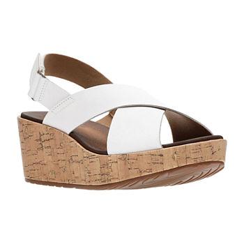 40ebf107379 White Women s Sandals   Flip Flops for Shoes - JCPenney