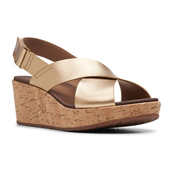 95954362a43 Clarks Womens Leisa Grace Slide Sandals. Add To Cart. wide width available