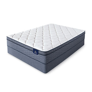 Serta® Sleeptrue® Culberson Eurotop - Mattress + Box Spring